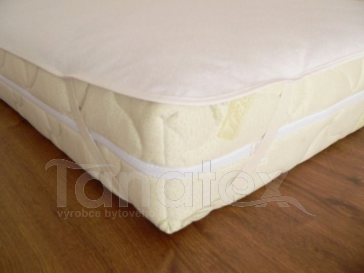 Chránič S polyuretanem 120x200 - Chránič na matraci chránič s gumou v rozích 120x200