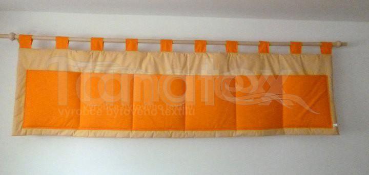 Kapsář Uni oranž - béžový - Kapsáře kapsář velký