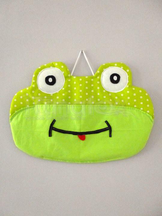 Kapsář Dekorace žába - Kapsáře kapsář - dekorace