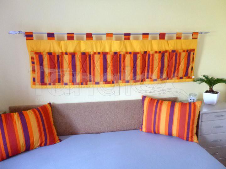 Kapsář Oranžové proužky - Kapsáře kapsář velký