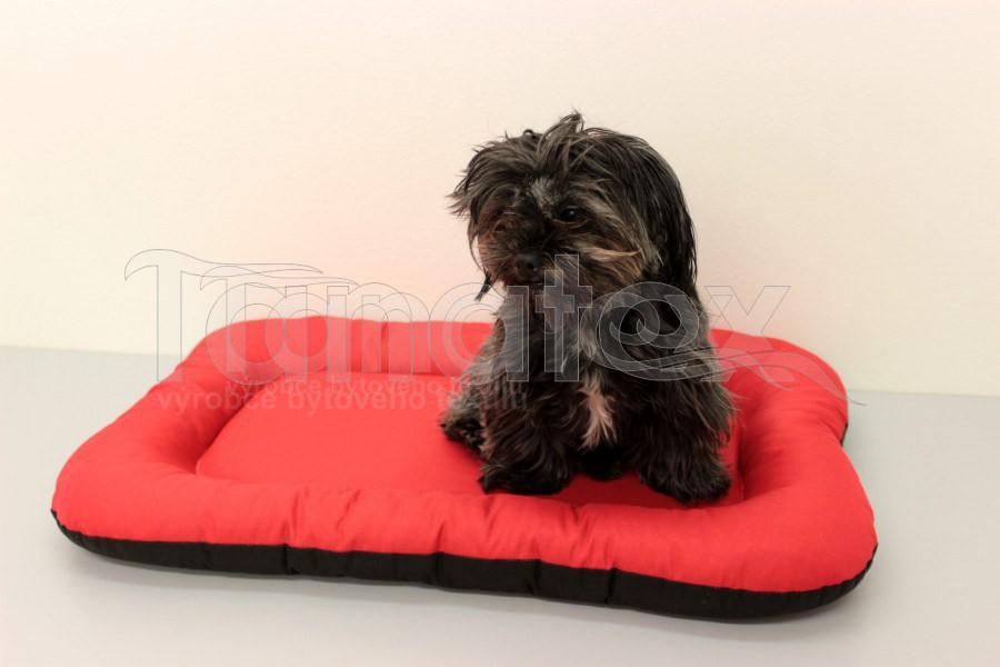 Omyvatelná Podložka - velikost s - červená - Pelechy pro psy a kočky Pelechy Podložka Velikost S - 35x50