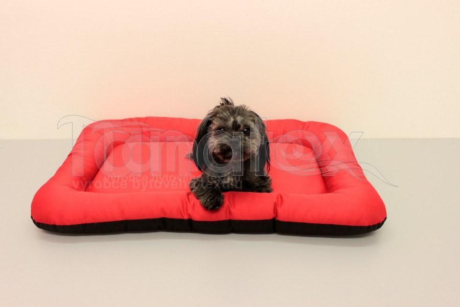 Omyvatelná Podložka - velikost 2xl - červená - Pelechy pro psy a kočky Pelechy Podložka Velikost 2XL - 75x110