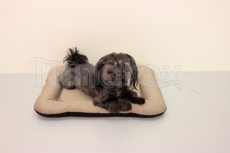 Omyvatelná Podložka - velikost s - béžová - Pelechy pro psy a kočky Pelechy Podložka Velikost S - 35x50