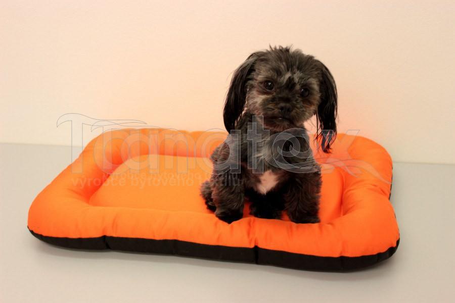 Omyvatelná Podložka - velikost xl - oranžová - Pelechy pro psy a kočky Pelechy Podložka Velikost XL - 60x90