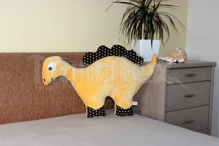 Polštářek Mikro dinosaurus banánový - Polštářky Zvířátka