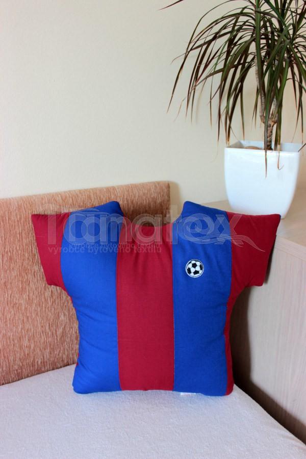 Polštářek Malý dres barceloňák - Polštářky Pro sportovce a fanoušky