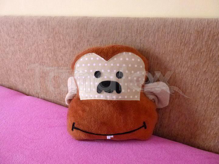 Polštářek Opička - Polštářky Zvířátka