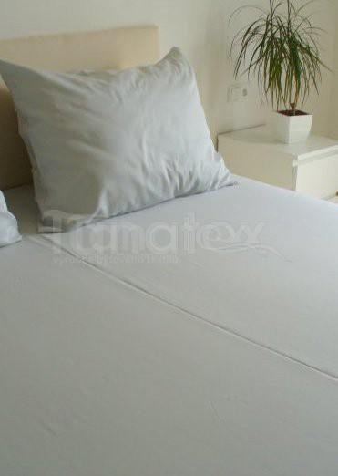 Povlak Satén 70x90 uni šedý - Ložní povlečení Povlaky na polštáře povlak 70x90 povlak Satén