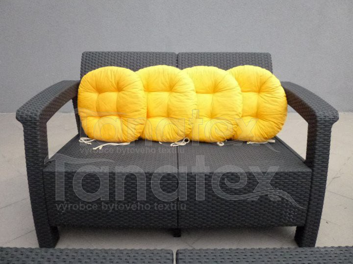 Sedák Kulatý - žlutý