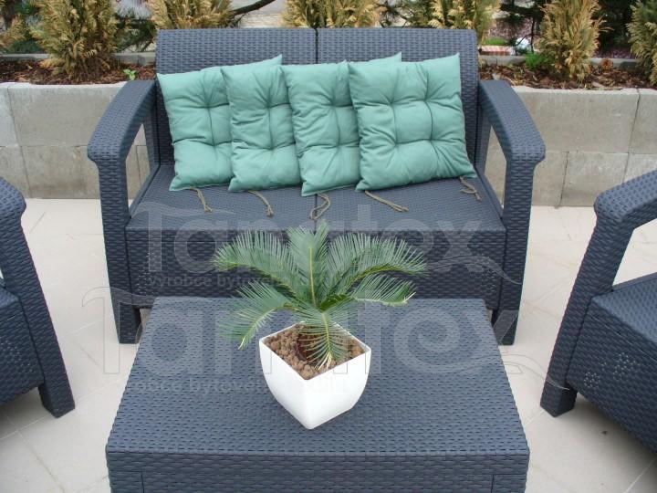 Sedák Olivově zelený - Sedáky sedák klasik