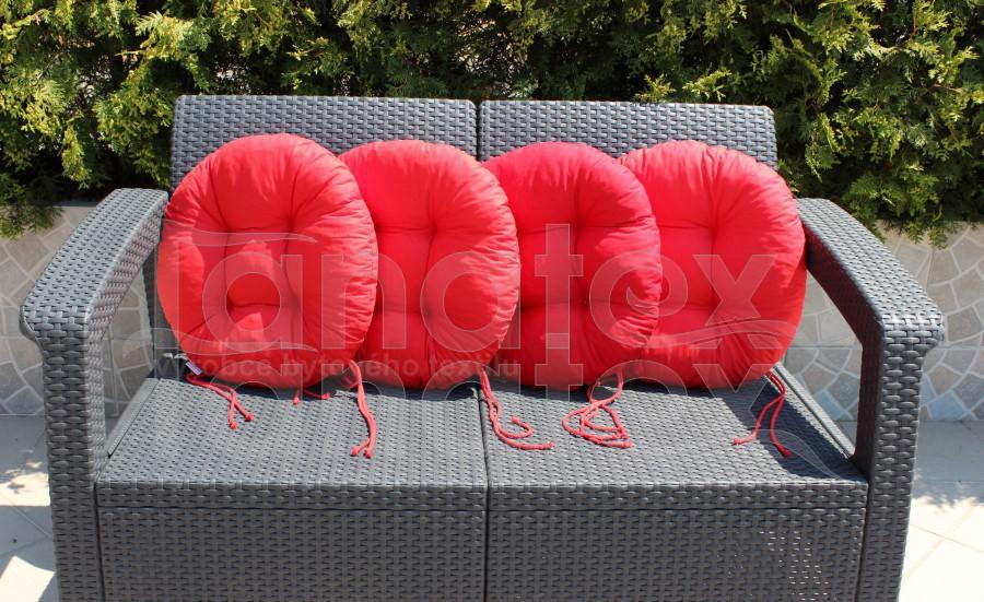 Sedák Kulatý - červený