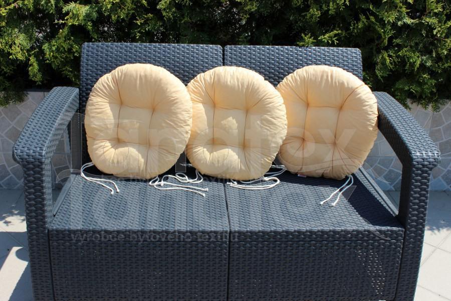 Sedák Kulatý - pískový - Sedáky sedák kulatý