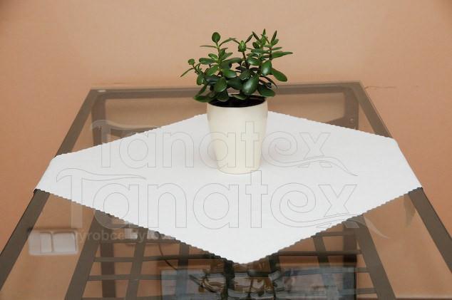Ubrus 30x60 - teflon bílý 30x60