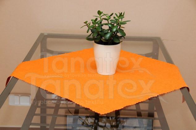 Ubrus 40x40 - teflon oranžový 7315 - 40x40 - Ubrusy a prostírání klasik 40x40