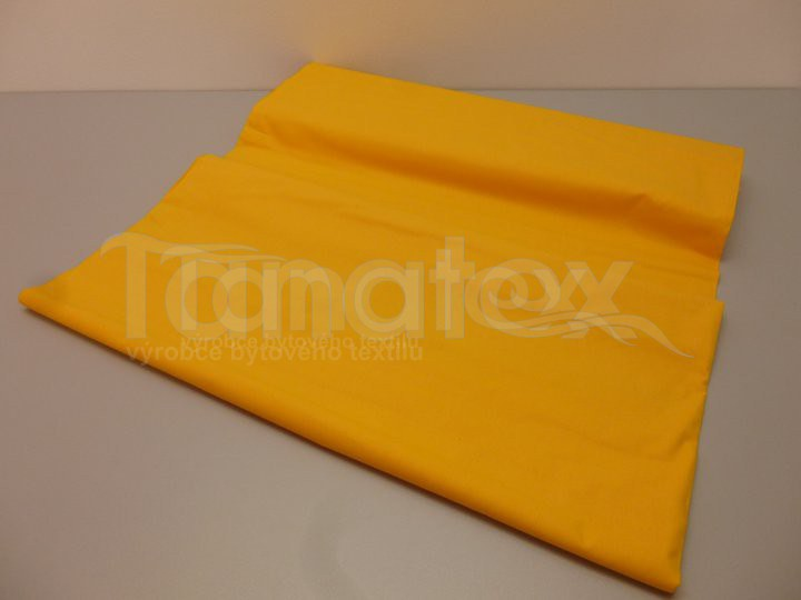 Prostěradlo Na gumu žlutooranžové v6 160x200
