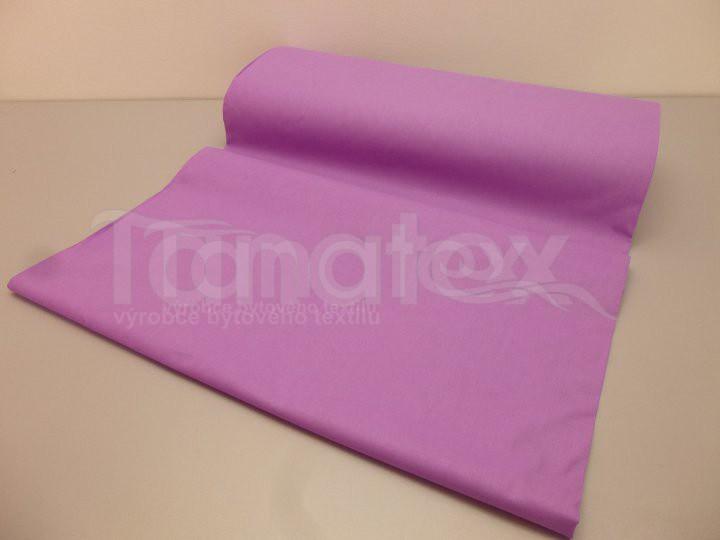 Satén Prostěradlo uni fialkové - Prostěradla Saténové prostěradlo na jednolůžko 150x220