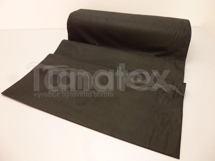 Prostěradlo Na gumu černé v28 90x200 - Prostěradla Plátěná prostěradla napínací do gumy 90x200 barevné