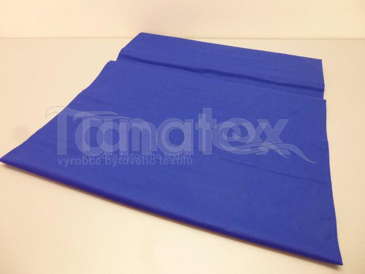 Prostěradlo Na gumu královsky modré v25 140x200 - Prostěradla Plátěná prostěradla napínací do gumy 140x200 barevné