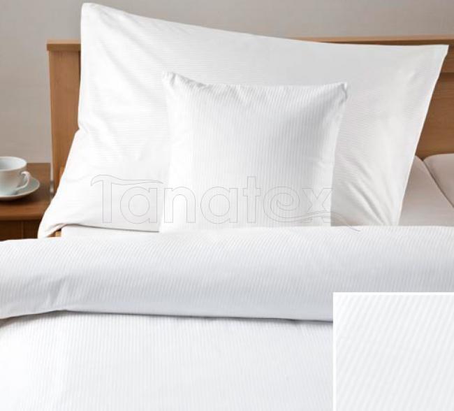 Povlak 40x60 proužky bílé - Ložní povlečení Povlaky na polštáře povlak 40x60 povlak Satén