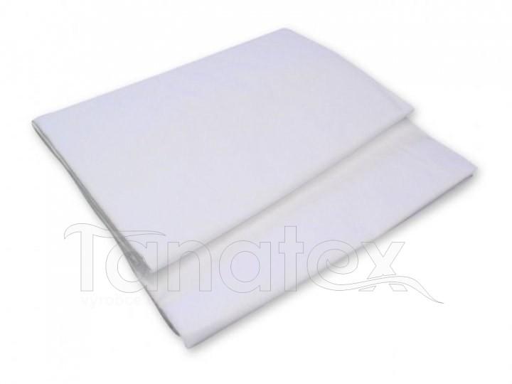 Prostěradlo Plachta bílé 220x240 - Prostěradla Plátěná prostěradla na dvoulůžko 220x240